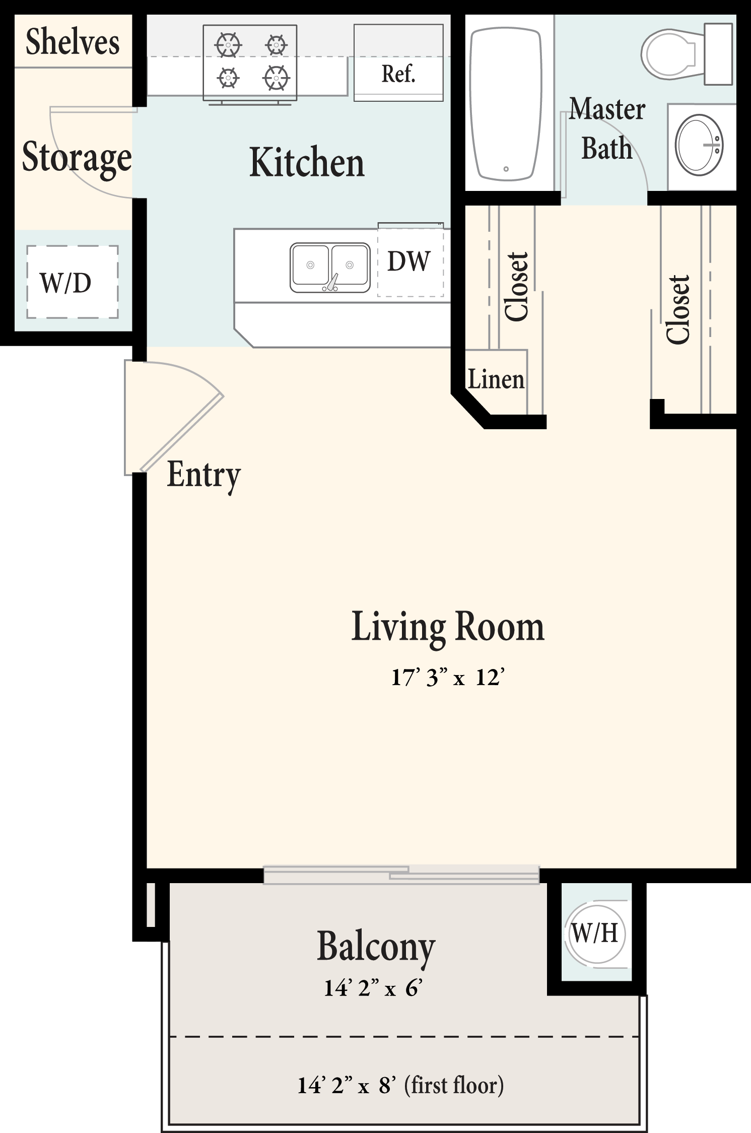 rosewood apartments floorplans