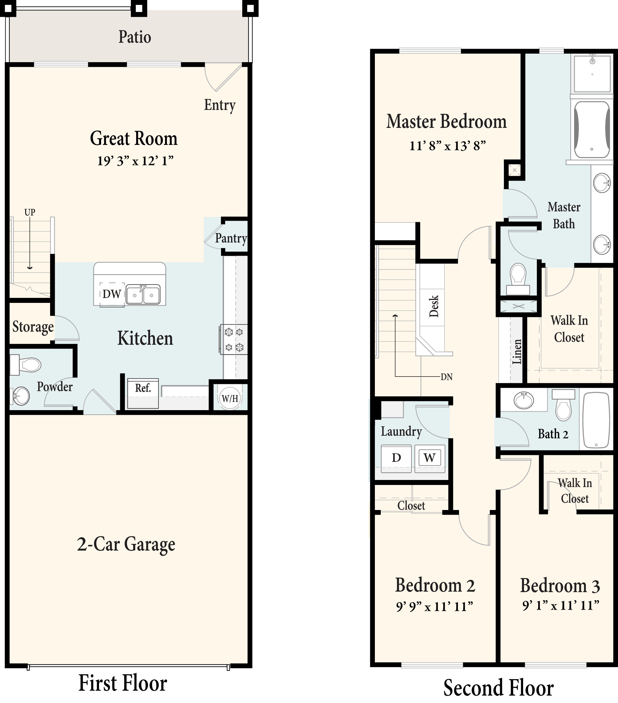 The Townhomes Plan 3A