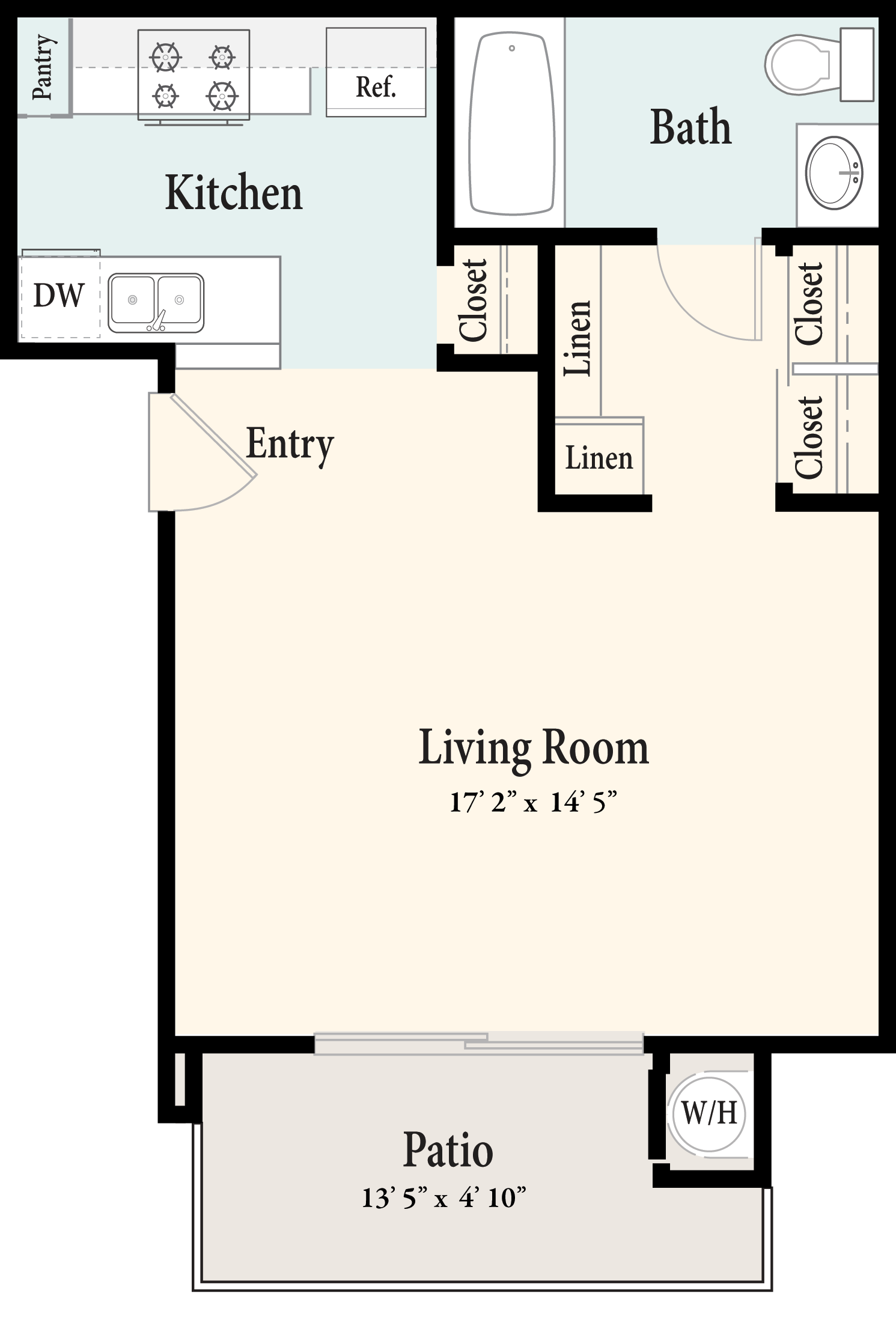Plan A 1st Floor