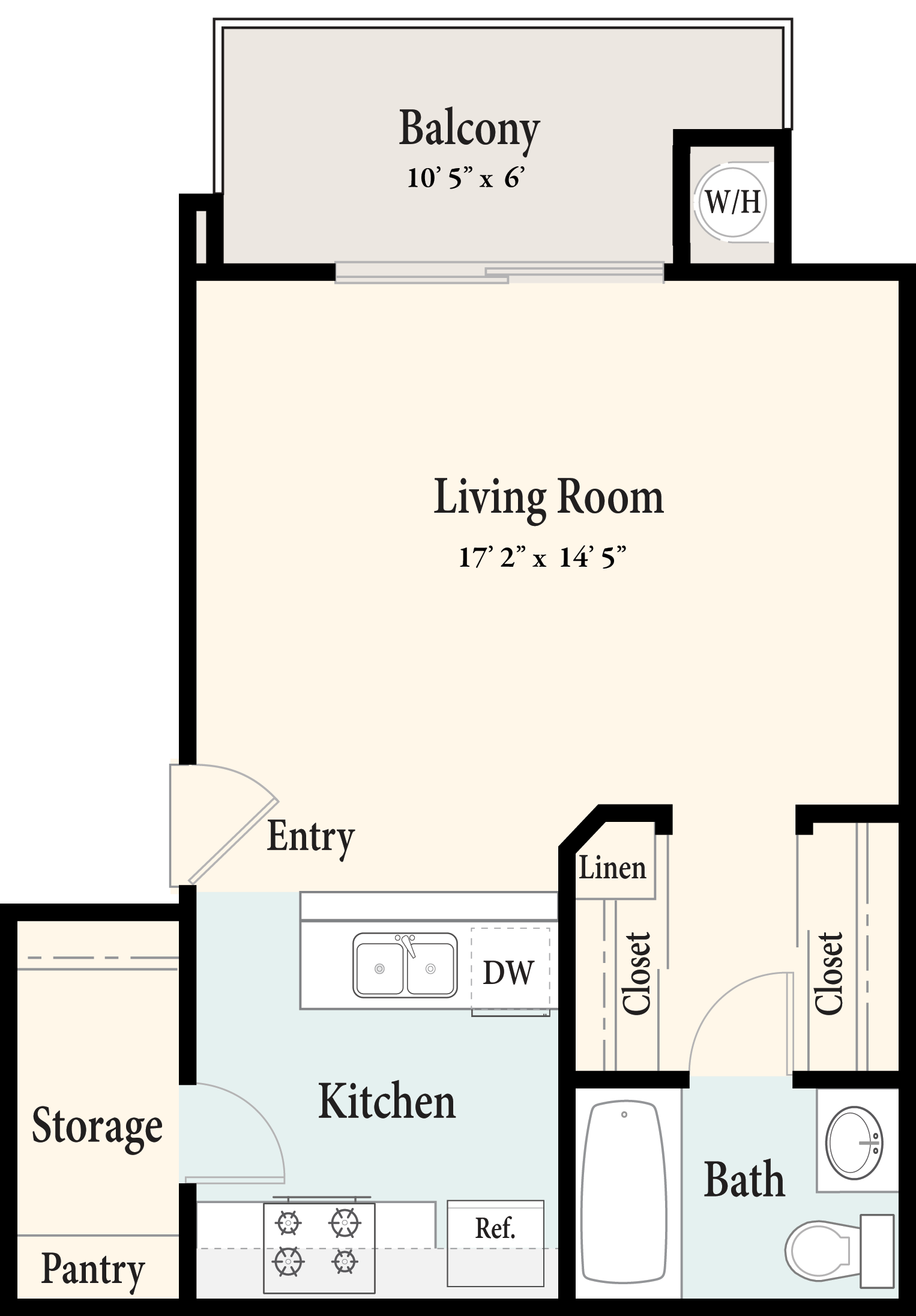 Plan A 2nd Floor