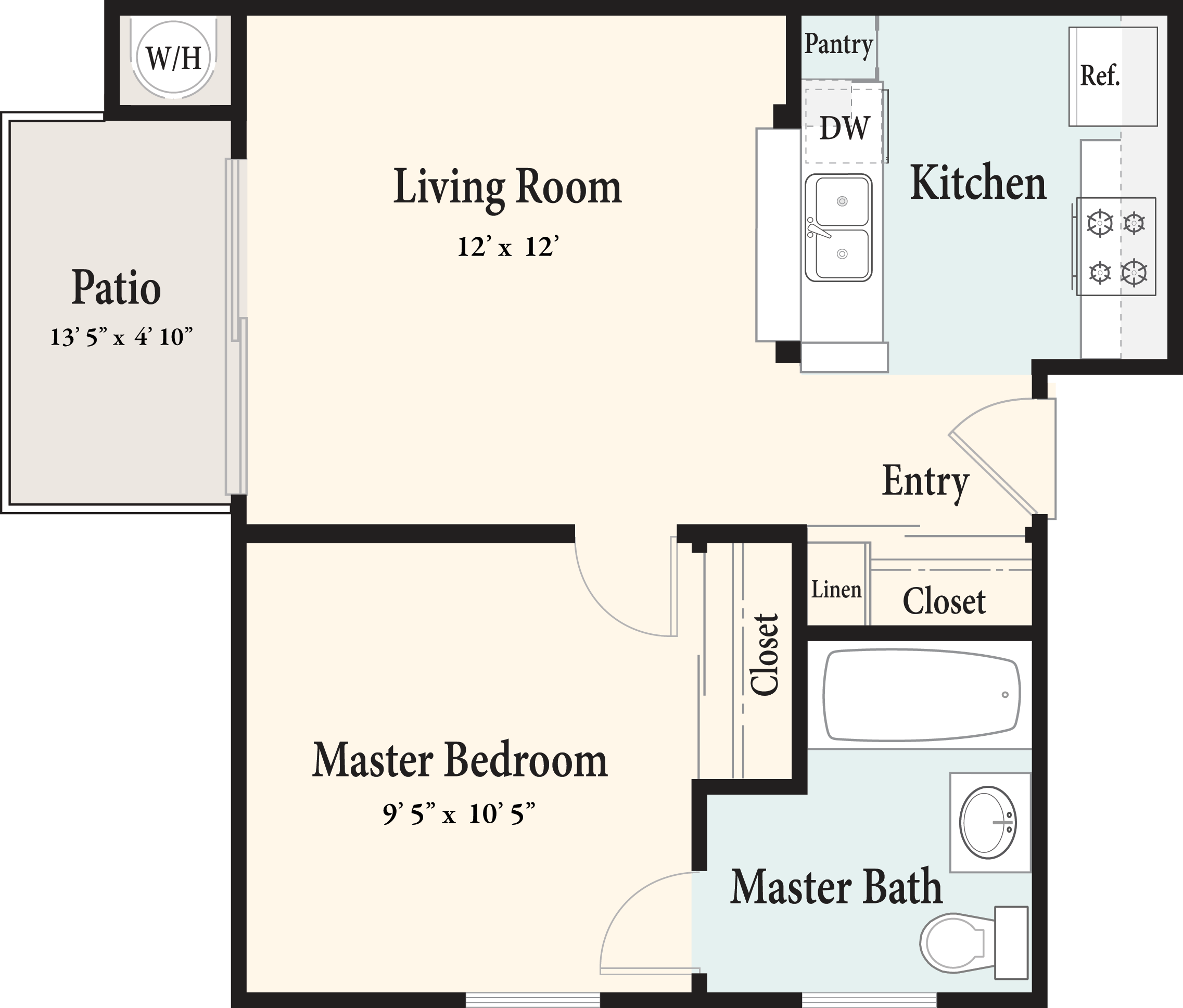 Plan AE 1st Floor