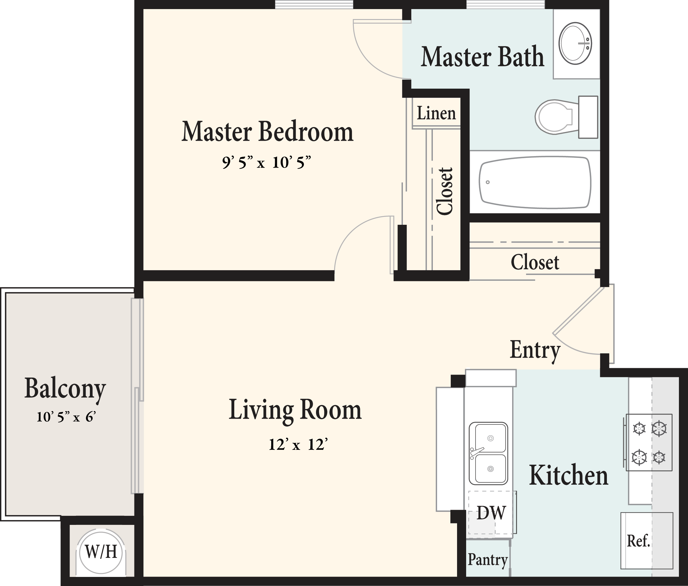 Plan AE 2nd Floor