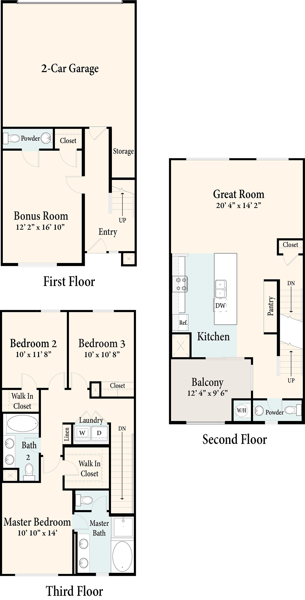 The Townhomes Plan 5