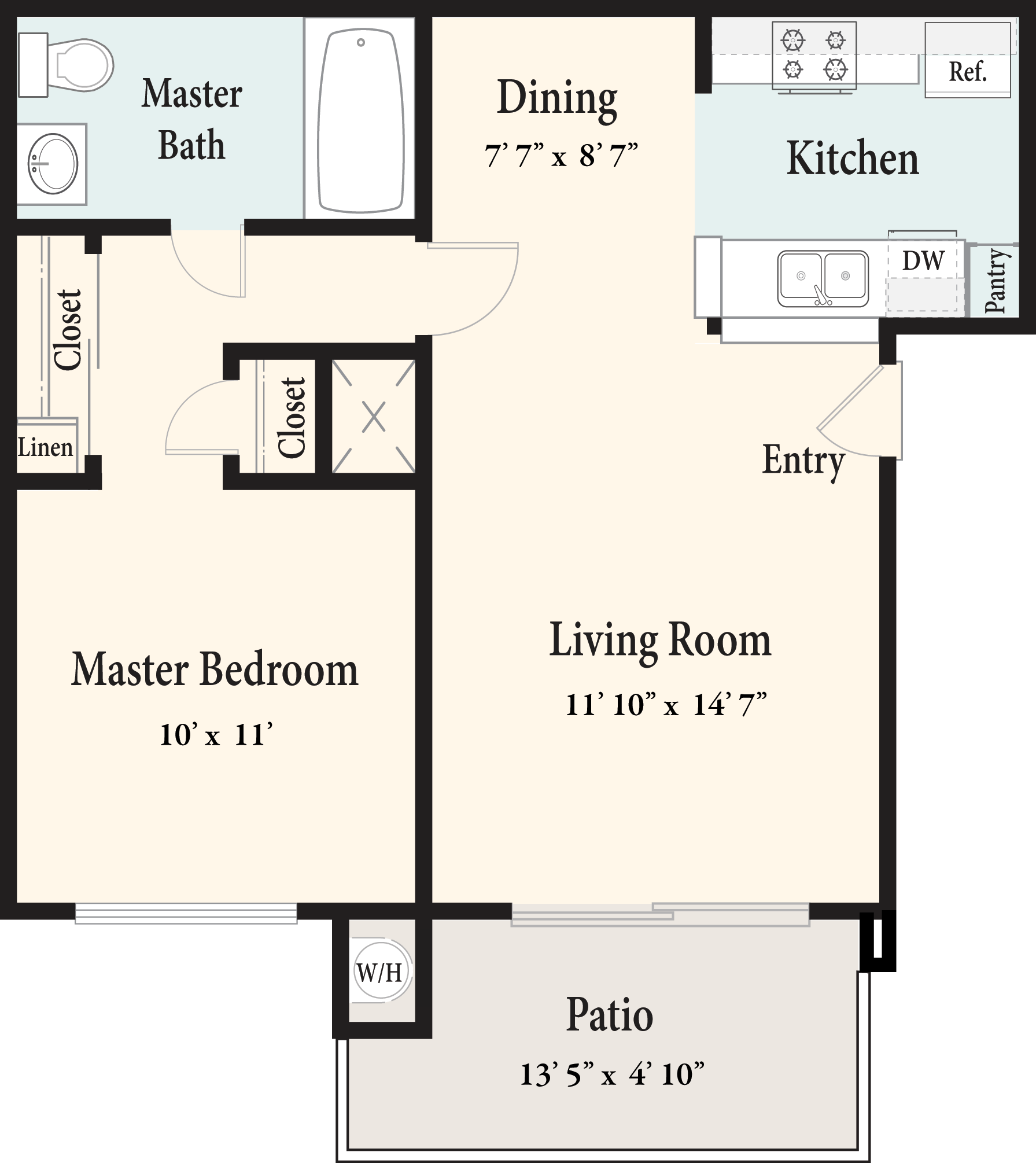 Plan B 1st Floor