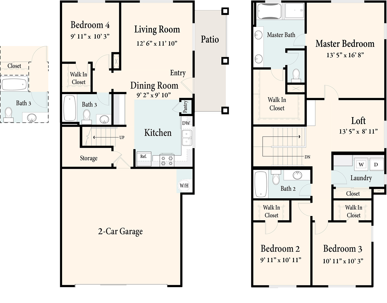 The Townhomes Plan 4
