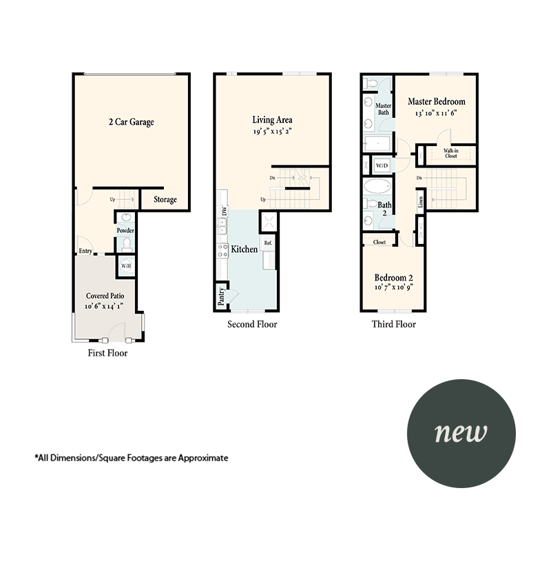The Townhomes Plan 2A