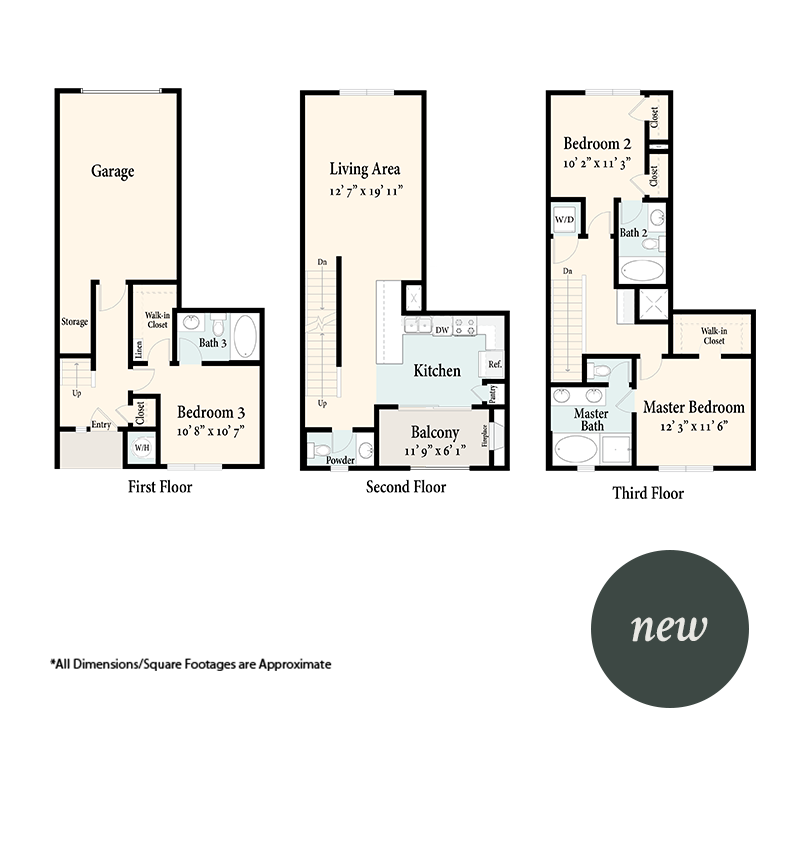The Townhomes Plan 3C