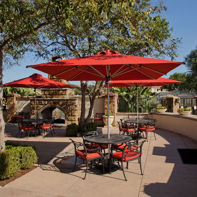 Homecoming at Eastvale Apartments - Public patio