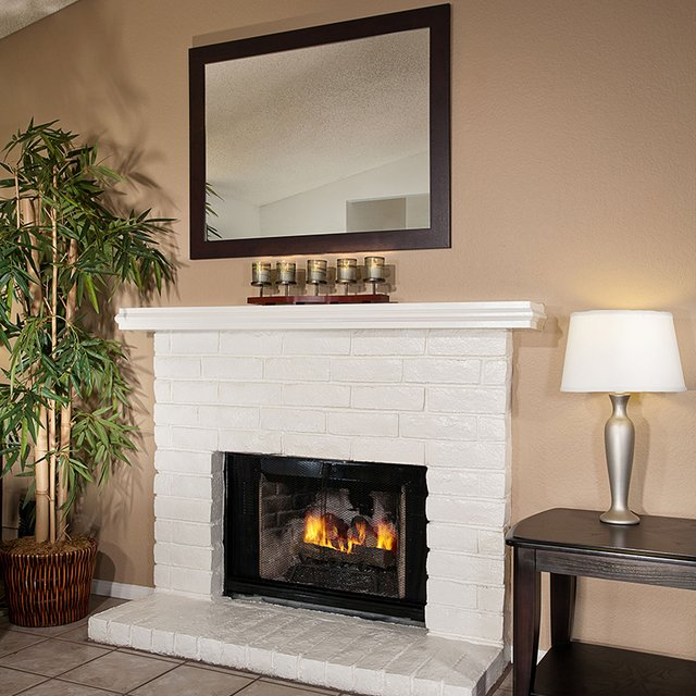 Linden Court Apartments - Fireplace