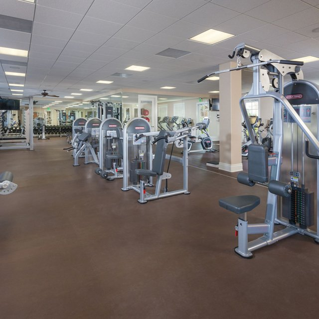 Homecoming at the Preserve Apartments - Fitness center
