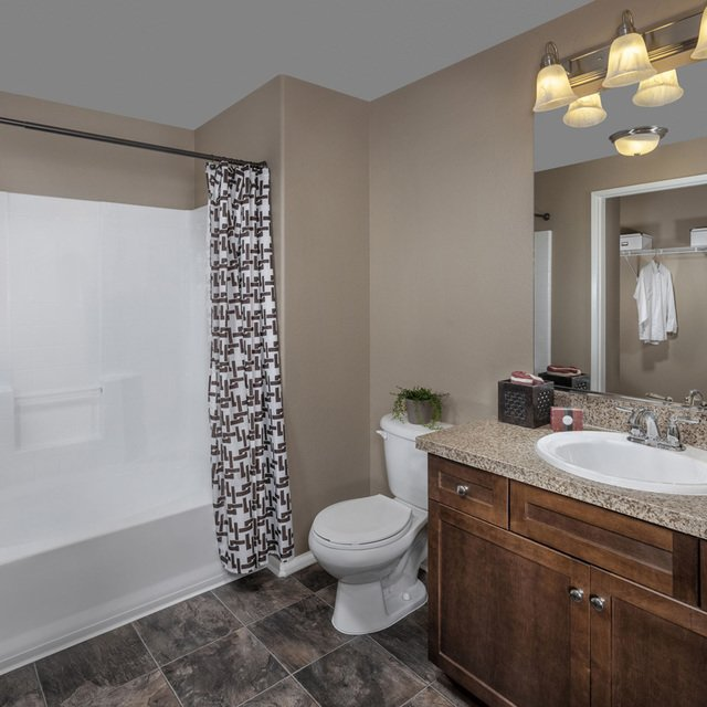 Homecoming at Terra Vista Apartments - Bathroom