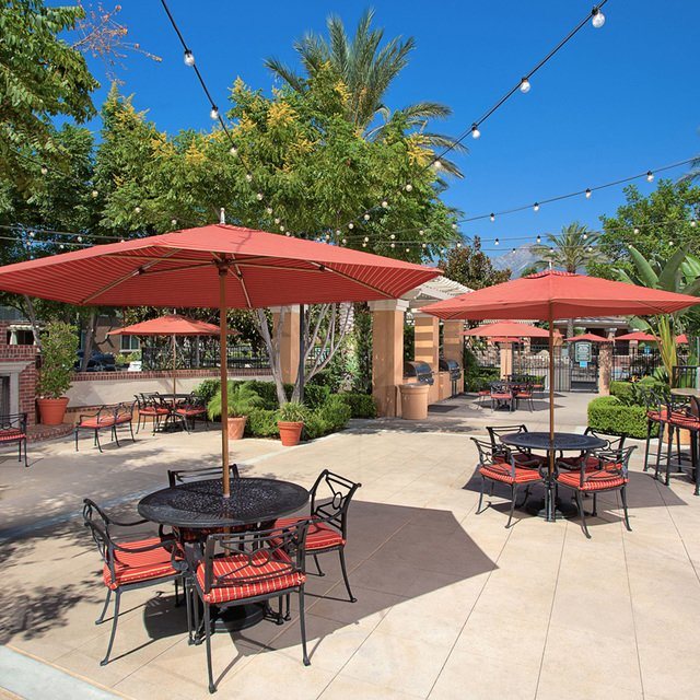 Homecoming at Terra Vista Apartments - Outdoor area with tables
