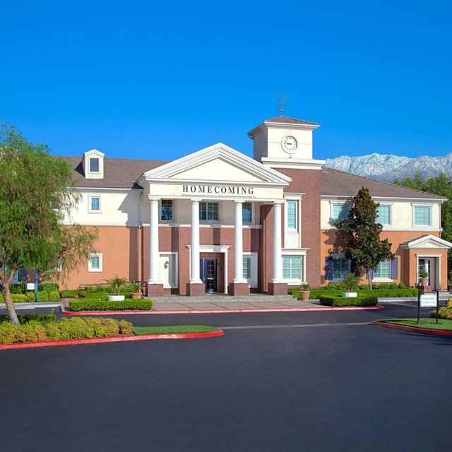 Homecoming at Terra Vista Apartments - Clubhouse exterior
