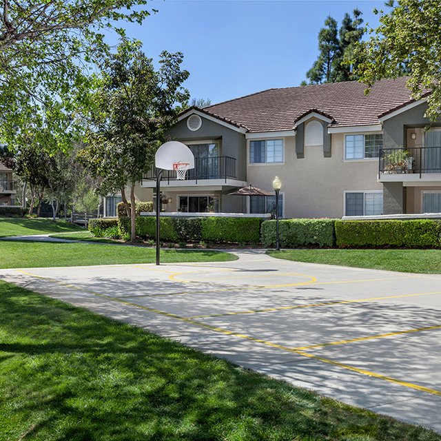 Green Valley Apartments - Basketball court