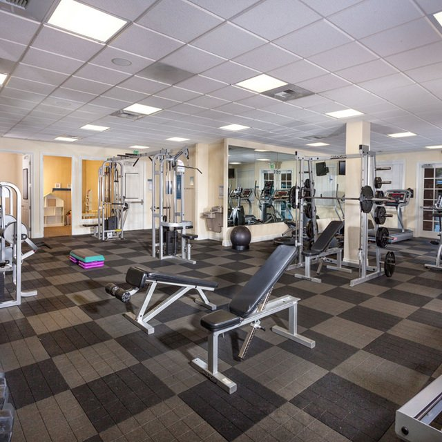 Homecoming at Creekside Apartments - Fitness Center