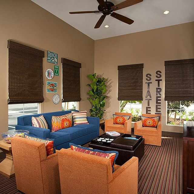 Santa Barbara Apartments - Community Game Room