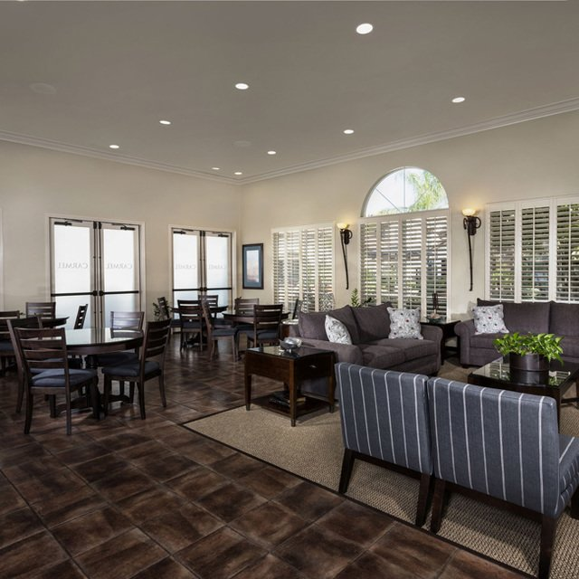 Carmel at Terra VIsta | Clubhouse interior