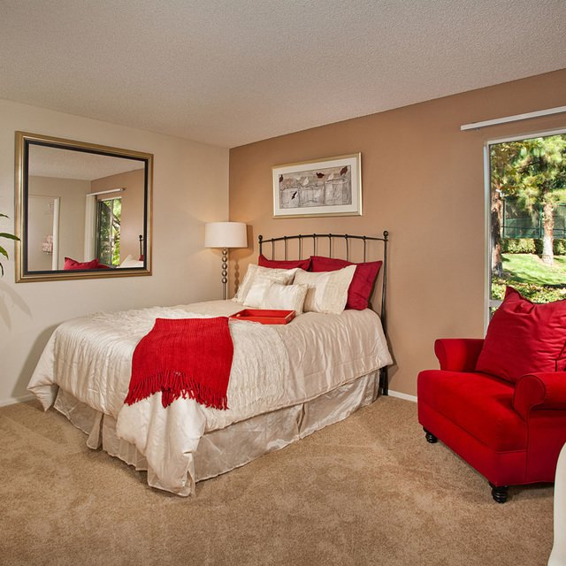 Suncape Apartments - Model Bedroom