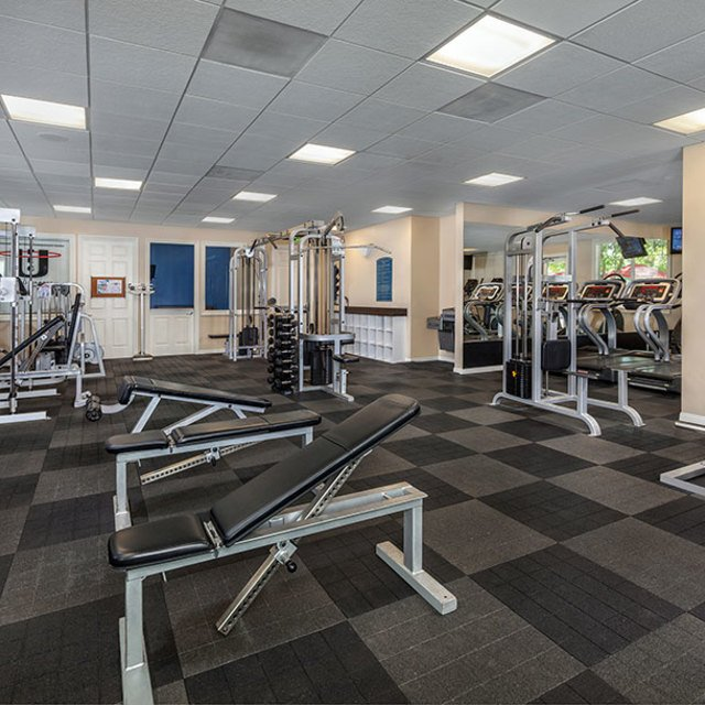 Homecoming at Eastvale Apartments - Fitness center
