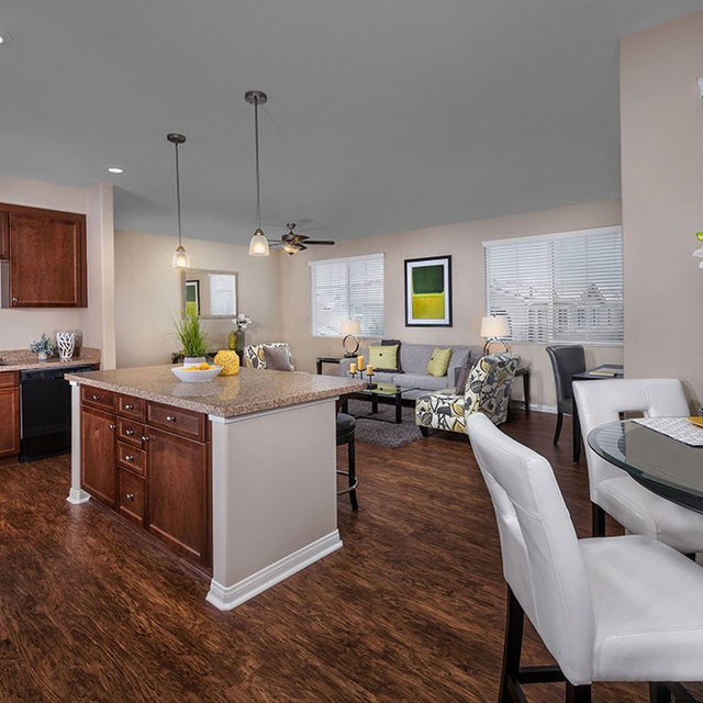 Homecoming at the Preserve Apartments - Kitchen and dining room