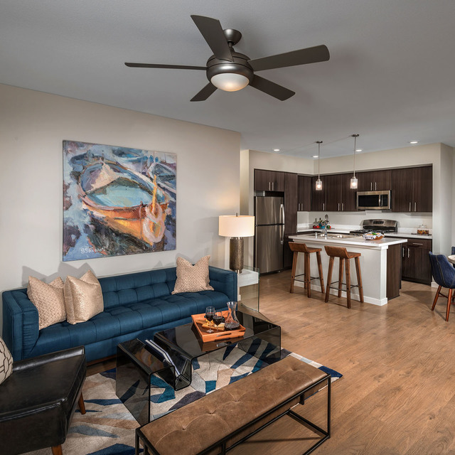 Latitude 39 Apartments - Living Room